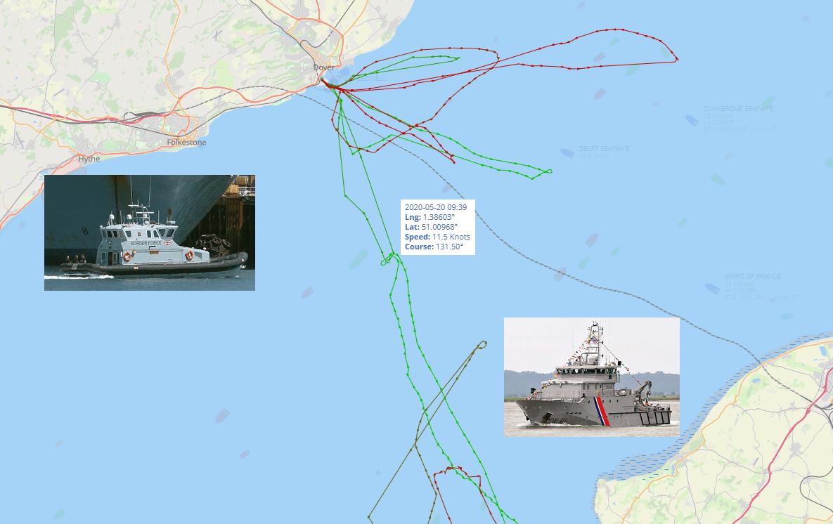 Nigel Farage at sea